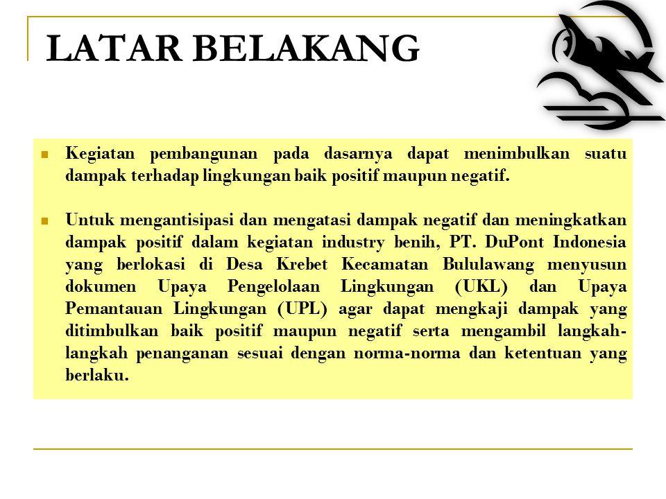PT. dONGENG Pusat Penelitian Lingkungan Hidup (PPLH) Universitas Brawijaya Malang SEMINAR Upaya Pengelolaan Lingkungan dan Upaya Pemantauan Lingkungan