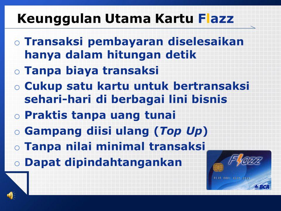 Anda bisa mengisi ulang kartu Flazz dengan mudah di merchant bertanda Flazz Isi Ulang. Dengan satu kartu Flazz, Anda bisa melakukan transaksi sehari-h