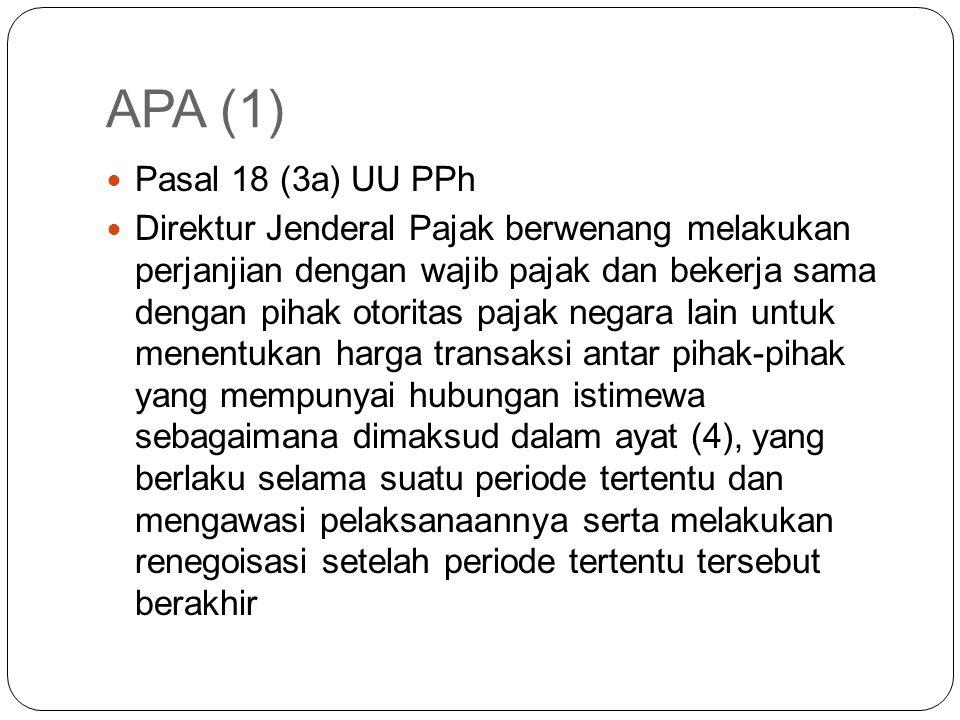 MAP Pasal 22 Wajib Pajak dapat mengajukan permohonan Prosedur Persetujuan Bersama (Mutual Agreement Procedure/MAP) kepada Direktur Jenderal Pajak sesu