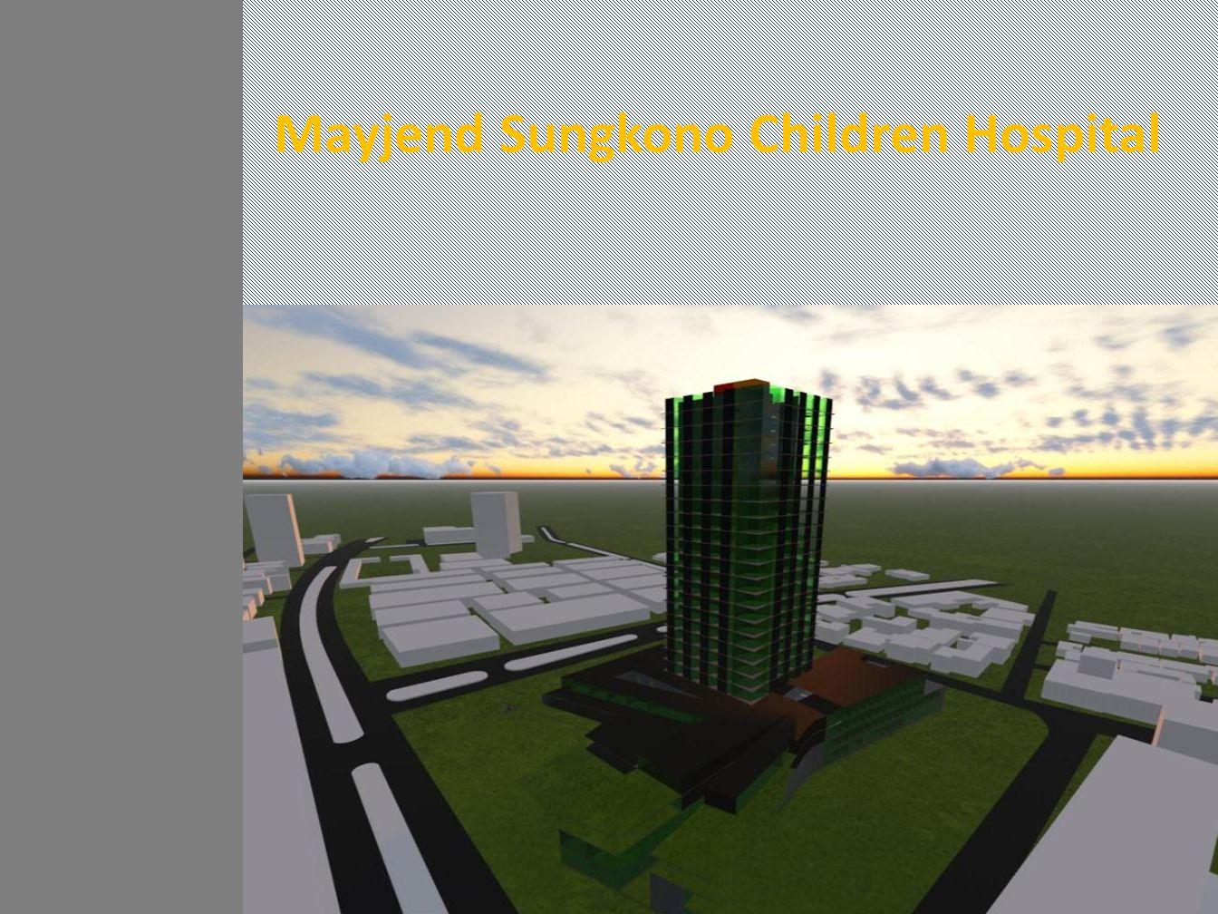 Mayjend Sungkono Children Hospital
