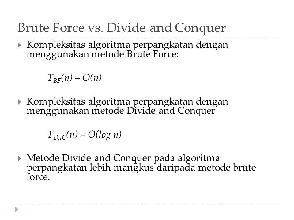 Brute Force vs.