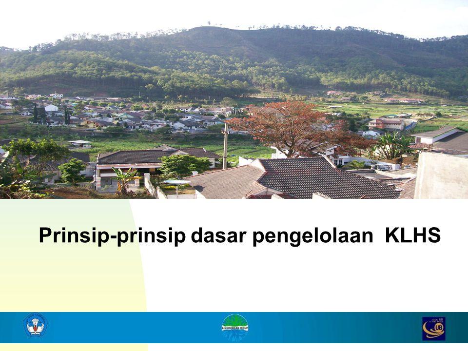 4 Prinsip-prinsip dasar pengelolaan KLHS
