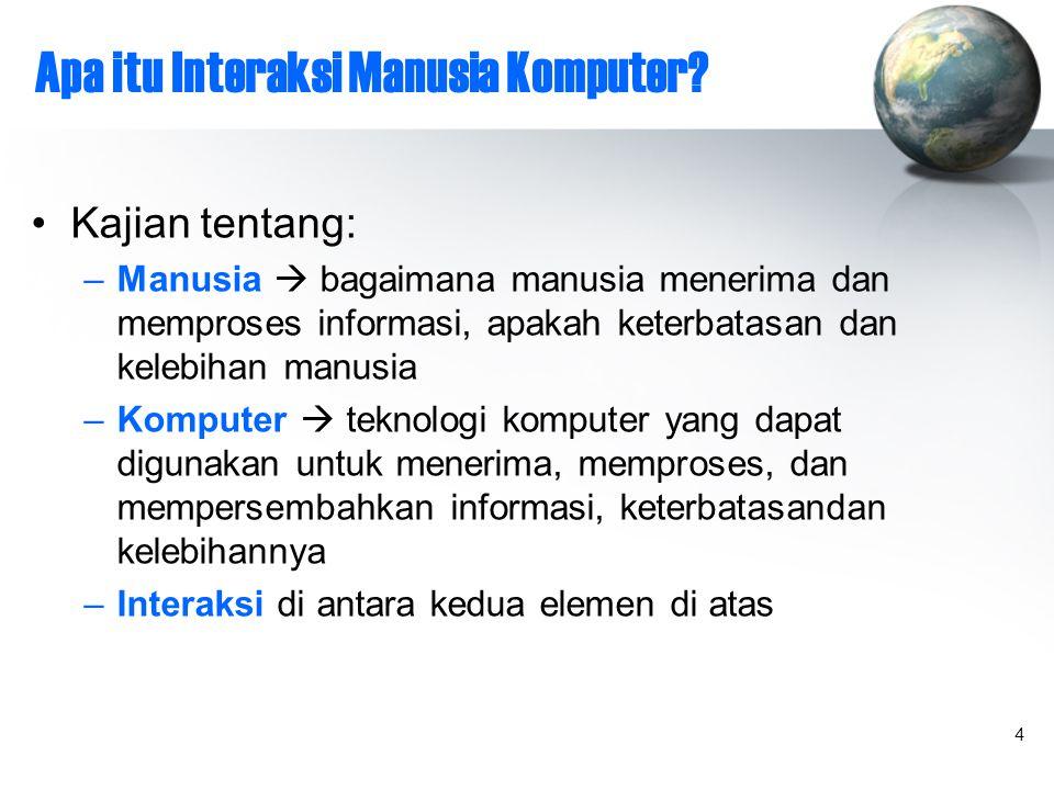 4 Apa itu Interaksi Manusia Komputer.