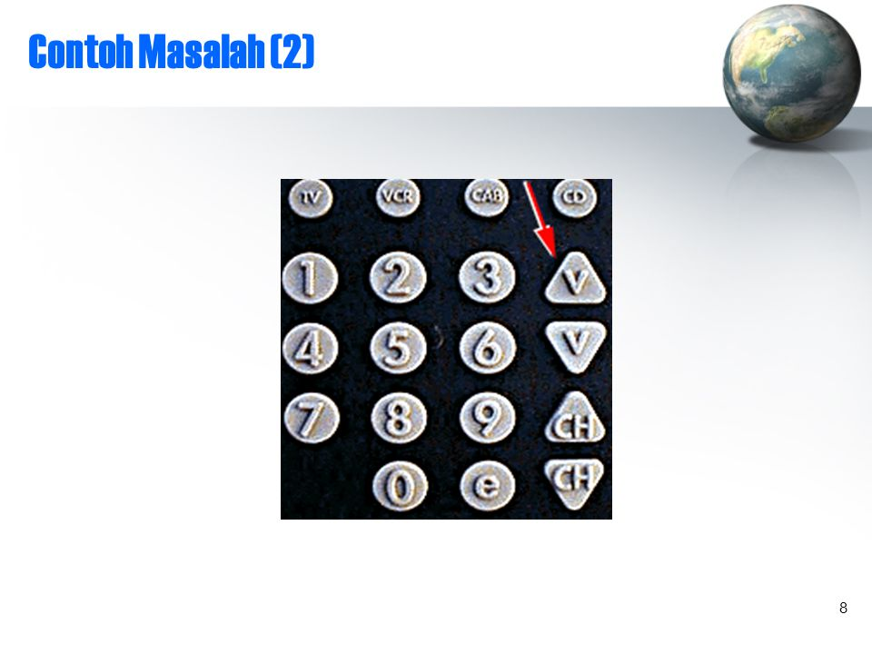8 Contoh Masalah (2) 