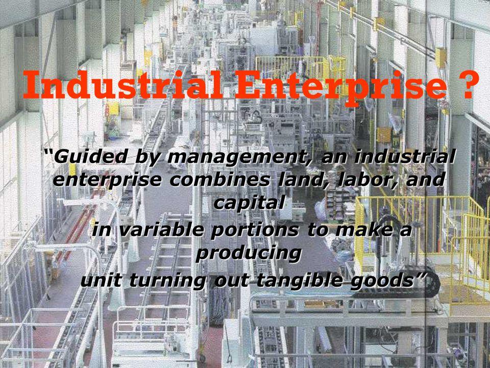 Industrial Enterprise .
