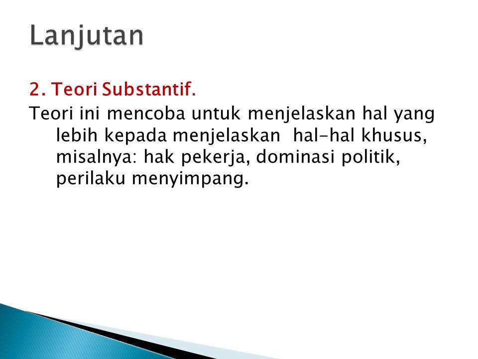 3.Teori Positivistik.