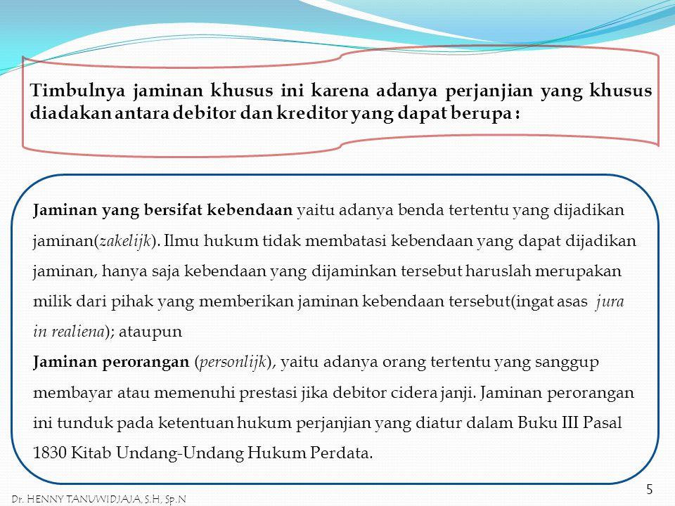 PERJANJIAN HAK TANGGUNGAN ADALAH PERJANJIAN ACCESOIR Perjanjian Hak Tanggungan bukan merupakan perjanjian yang berdiri sendiri.