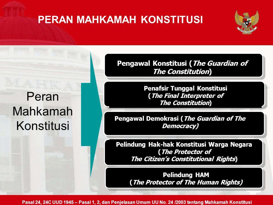 MOH. SALEH FAKULTAS HUKUM UNIVERSITAS NAROTAMA SURABAYA 2013 KEDUDUKAN, FUNGSI DAN KEWENANGAN MAHKAMAH KONSTITUSI MAHKAMAH KONSTITUSI REPUBLIK INDONES