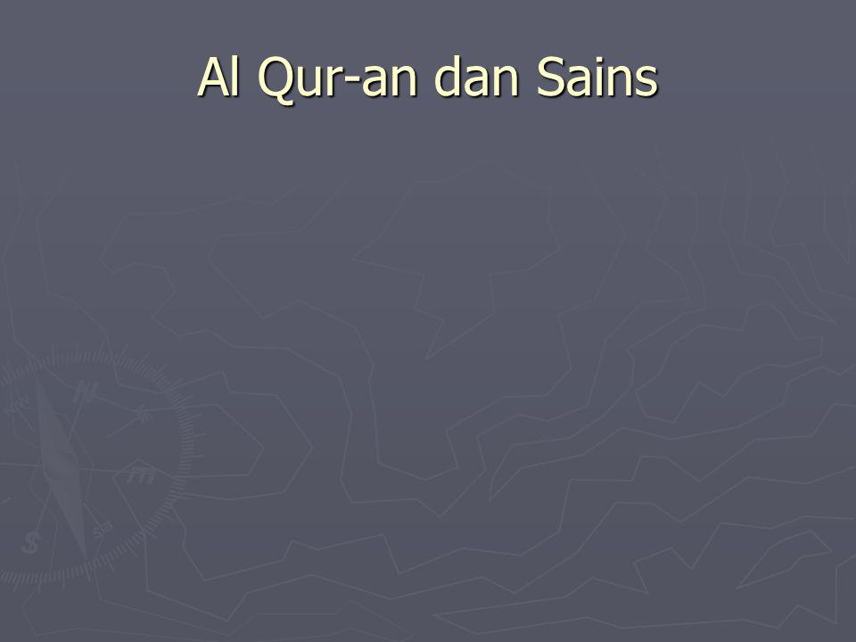 Al Qur-an dan Sains