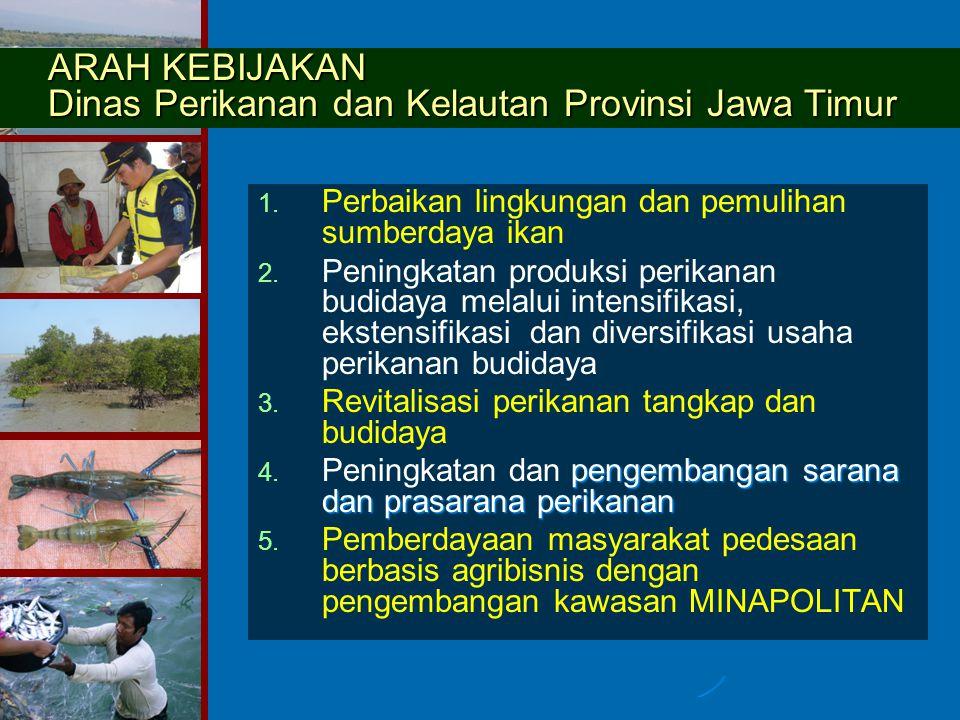 1.1. Perbaikan lingkungan dan pemulihan sumberdaya ikan 2.