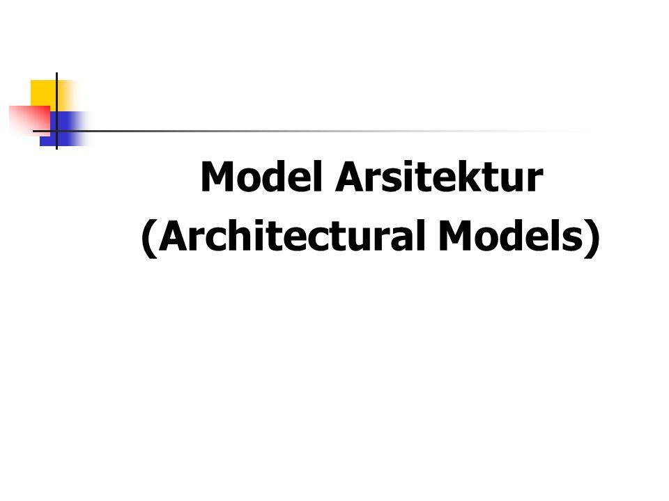 Model Arsitektur (Architectural Models)