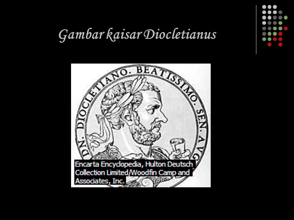 Gambar kaisar Diocletianus