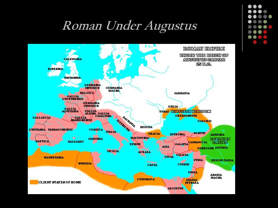 Roman Under Augustus