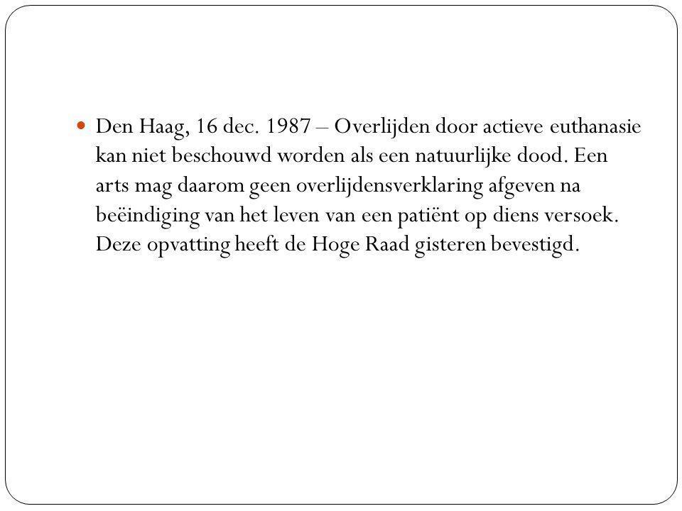 Den Haag, 16 dec.