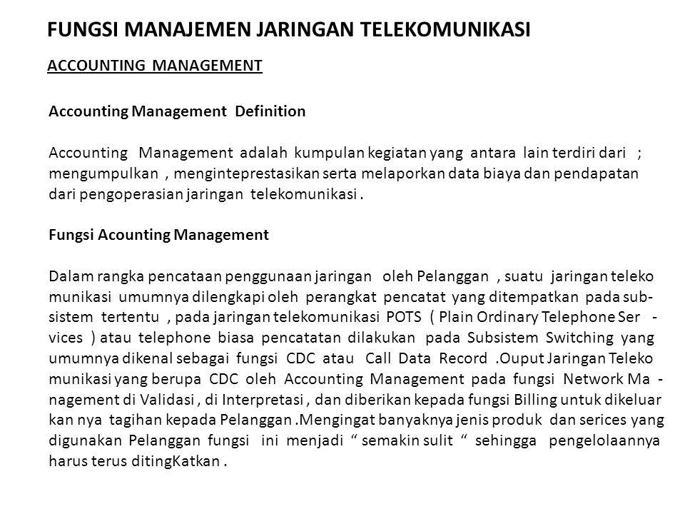 Accounting Management Definition Accounting Management adalah kumpulan kegiatan yang antara lain terdiri dari ; mengumpulkan, menginteprestasikan sert
