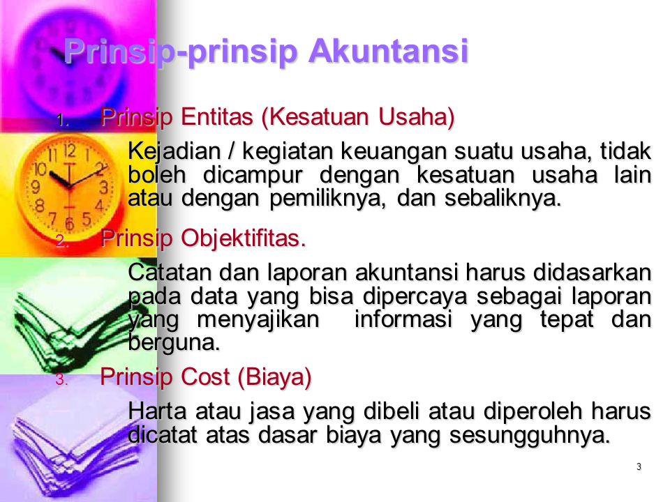 3 Prinsip-prinsip Akuntansi 1.