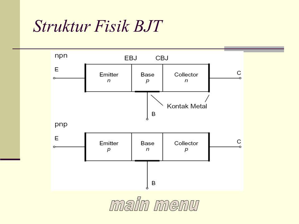 Struktur Fisik BJT