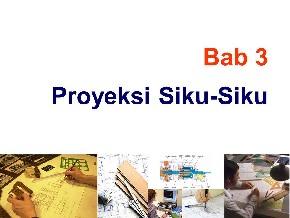 Bab 3 Proyeksi Siku-Siku