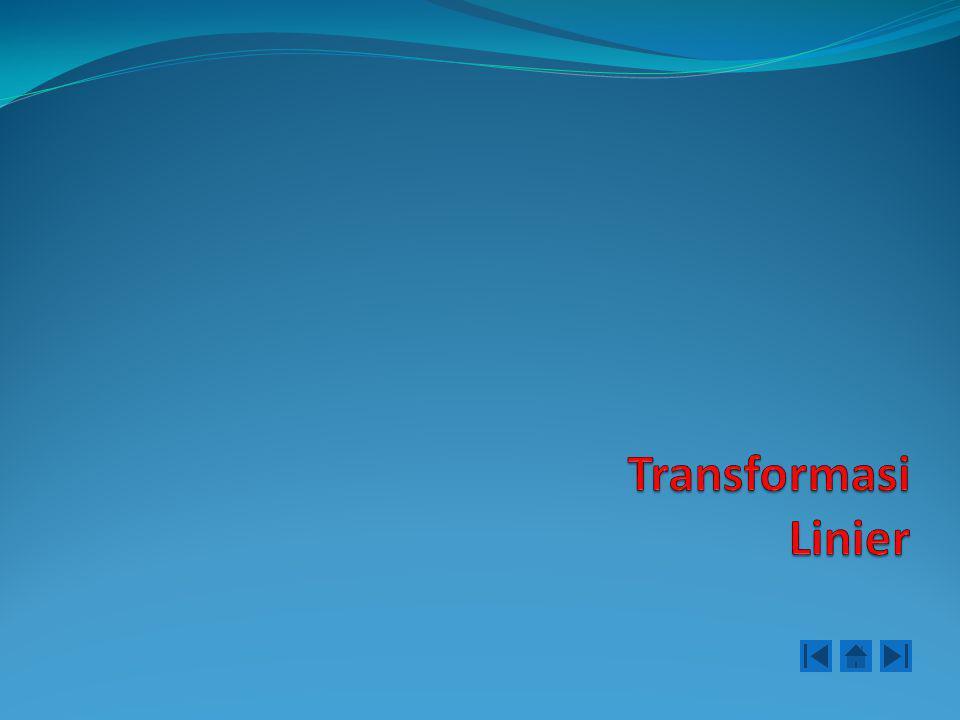 Jika dilakukan banyak sekali transformasi matrik dari R n ke R m secara berturutan, maka hasil yang sama dapat dicapai dengan transformasi matrik tunggal.