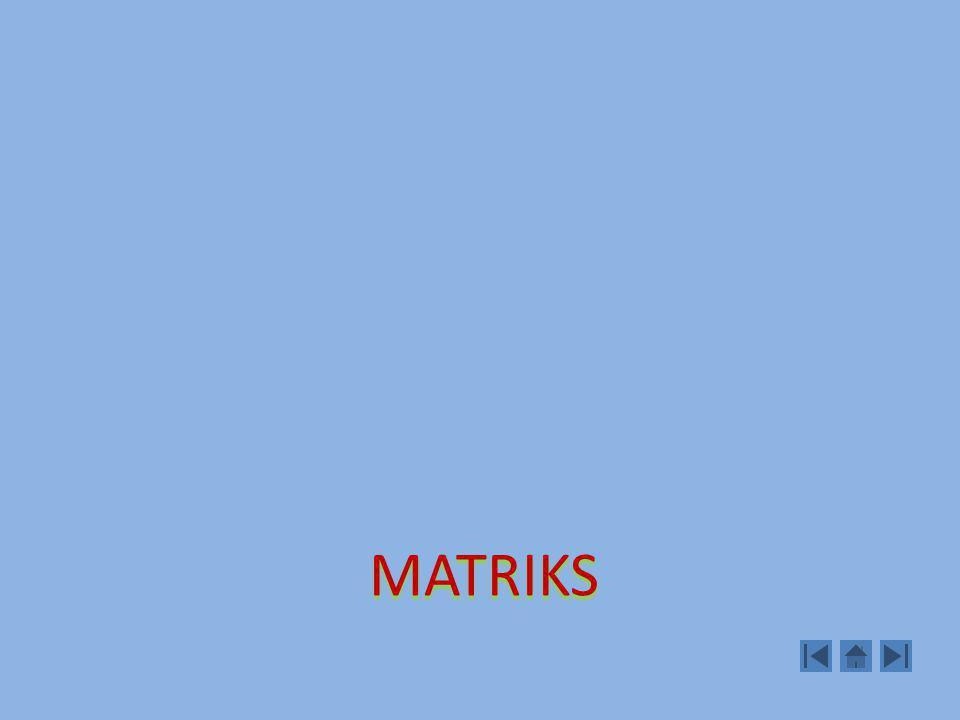 Transformasi Elementer Yang di maksud Transformasi Elementer pada matriks adalah operasi sbb: 1.