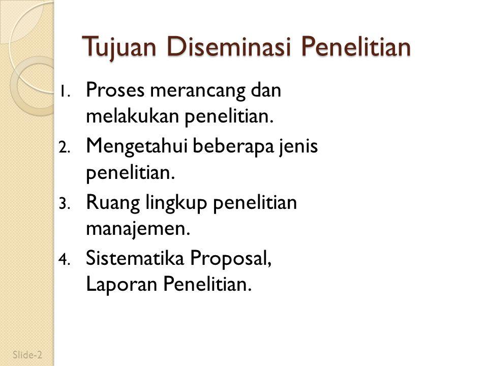 3. Lingkup Penelitian Manajemen Slide-33