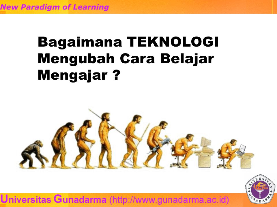 By mid-1996 there were over 2000 courses already offered on the World Wide Web Tapscott, 1996 By 2001, more than 75% of traditional US colleges and universities will use distancelearning technologies and techniques in one or more `traditional academic programs Gartner group Ramalan tentang Pendidikan masa depan…
