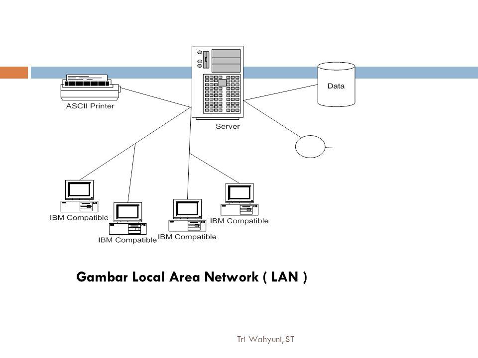 Tri Wahyuni, ST12 Gambar Local Area Network ( LAN )