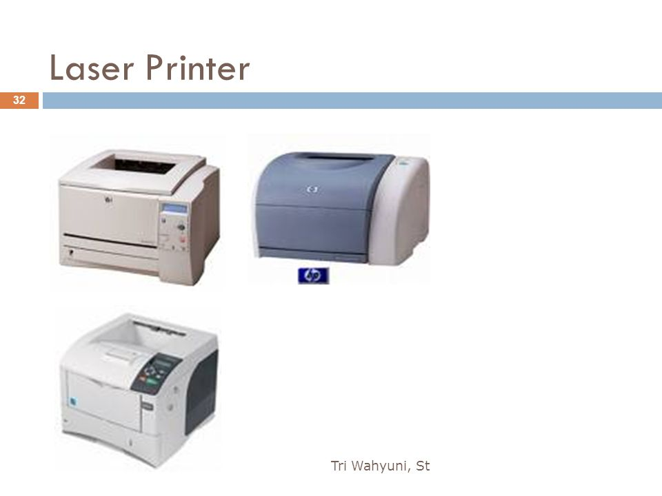 Laser Printer Tri Wahyuni, St 32