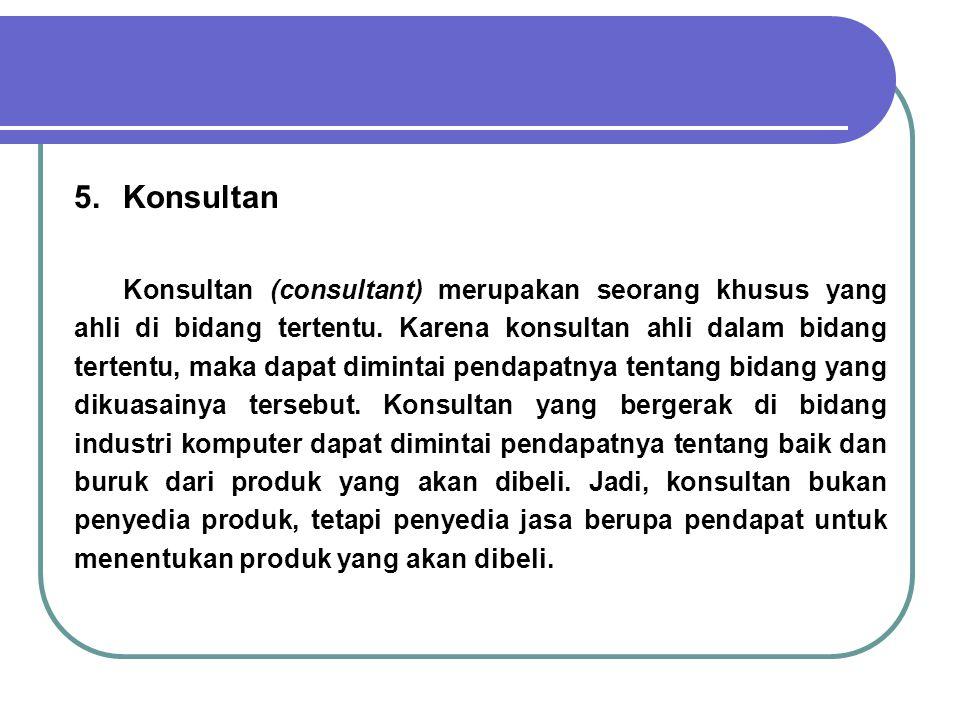 6.Kontraktor Program Mandiri.
