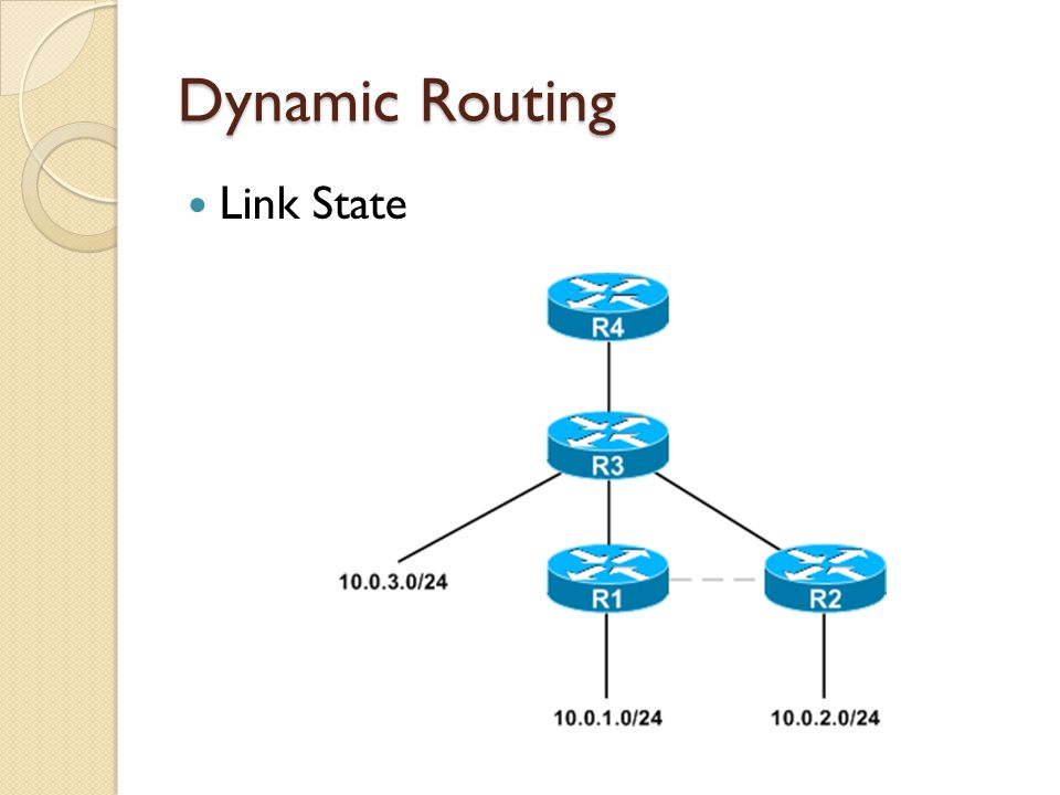 Dynamic Routing Link State