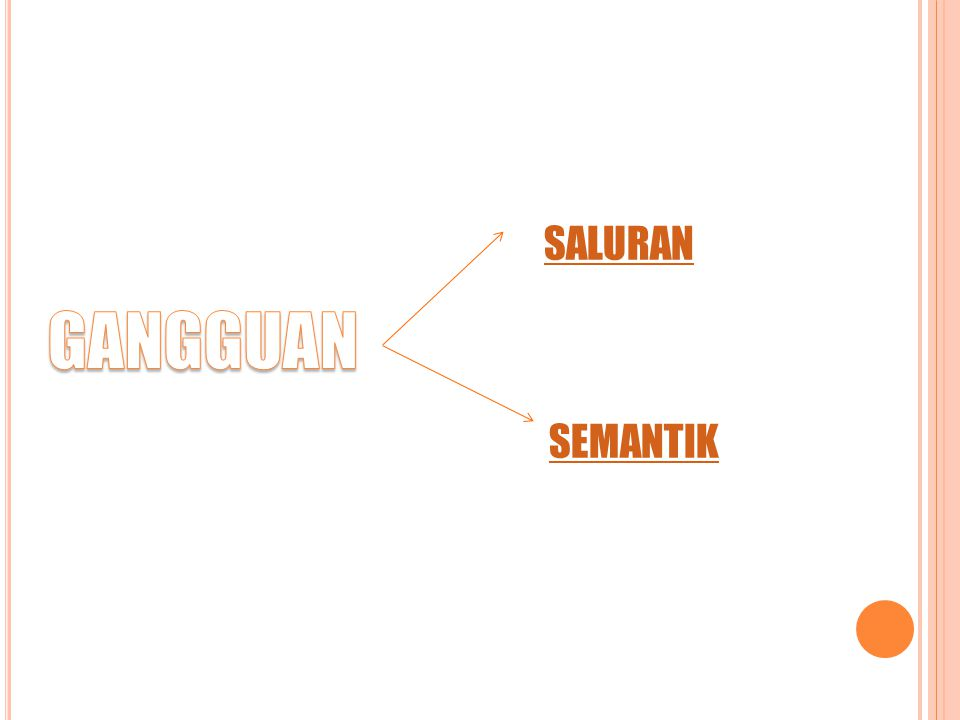 SALURAN SEMANTIK