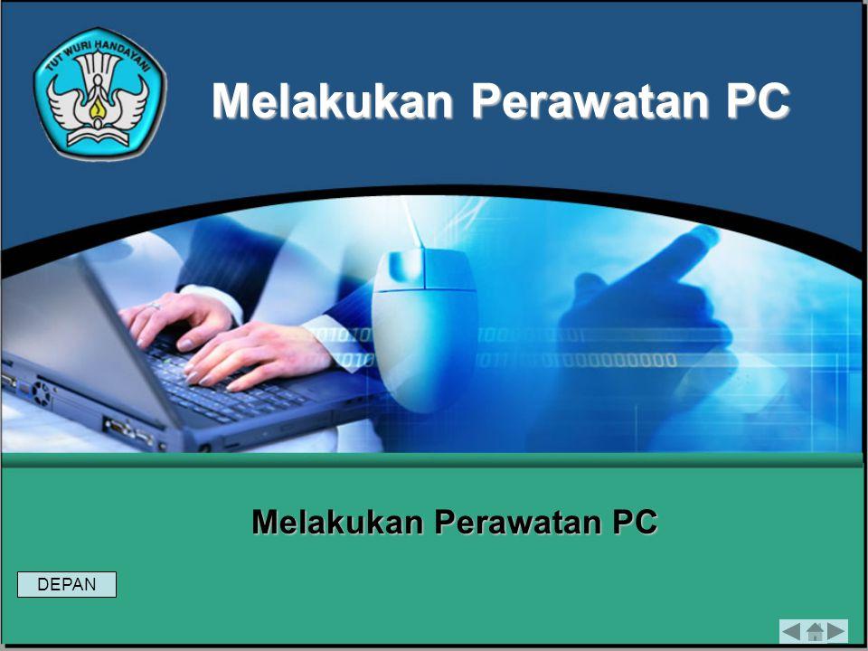 Modul 6Melakukan Perawatan PC Evaluasi 1 Tugas 1 1)Jelaskan fungsi Disk Cleaner .