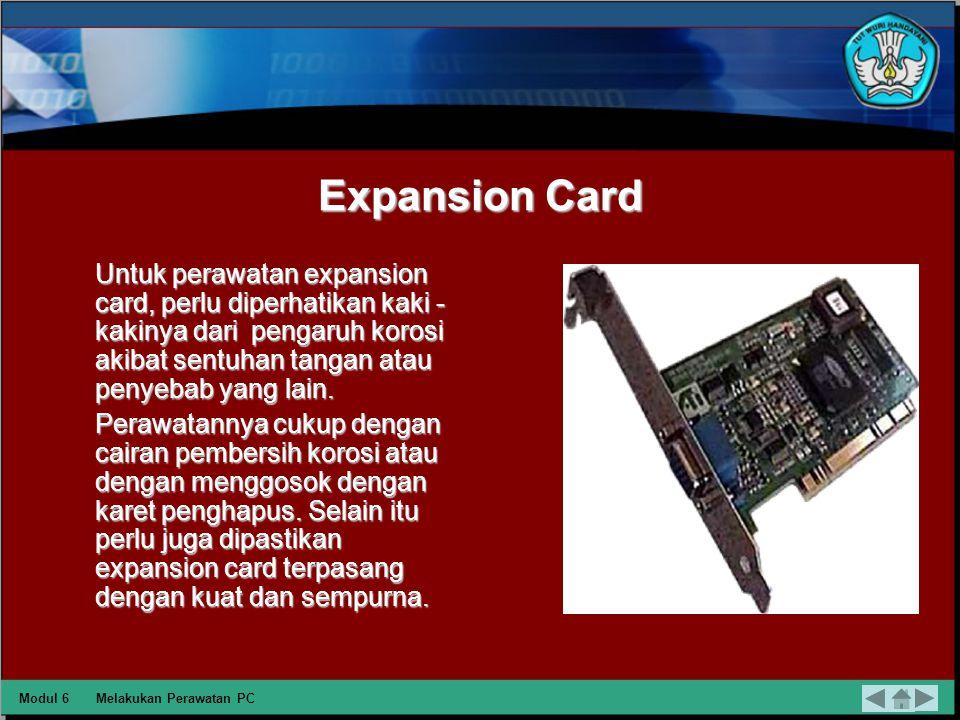 Motherboard Perawatan yang dilakukan pada motherboard adalah dengan menjaga suhu dari motherboard, yaitu dengan memperlancar sirkulasi udara pada syst