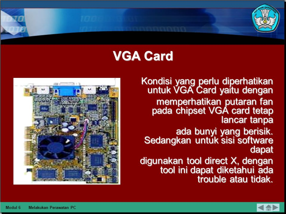 Hard disk Kondisi hard disk dapat dilihat dari dua sisi yaitu software dan hardware.