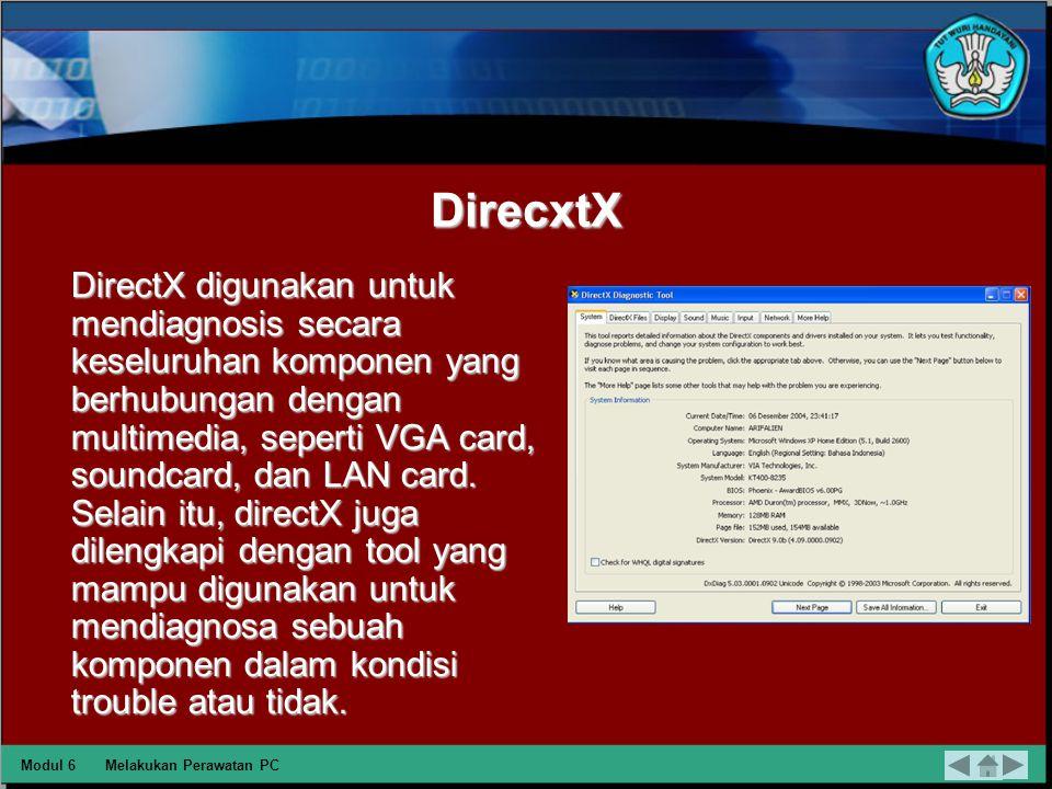 Disk Defragmenter Disk defragmenter merupakan tool bawaan windows, tool ini digunakan untuk merawat hard disk dari file yang terfragmentasi. File yang
