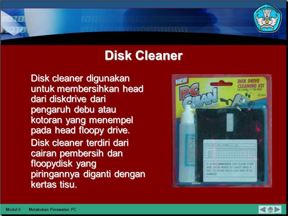 Melakukan Perawatan PC Memeriksa Hasil Perawatan PC DEPAN