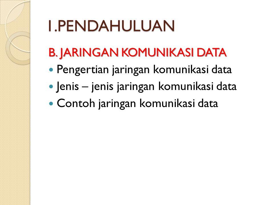 1.PENDAHULUAN C.