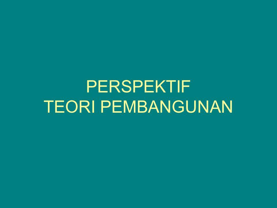 PERSPEKTIF TEORI PEMBANGUNAN