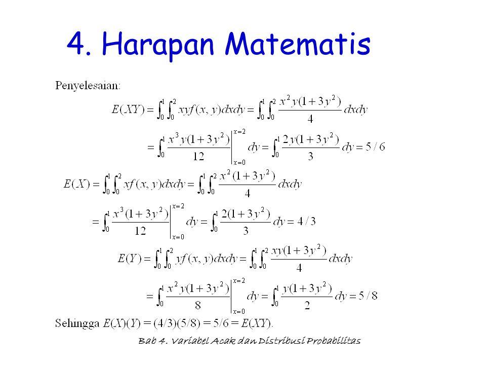 4. Harapan Matematis