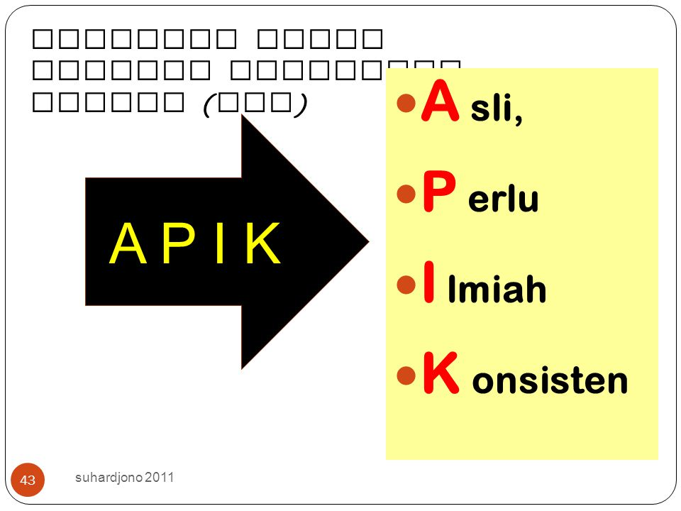 9/12/2014 suhardjono 2012 42 Bagaiman a menilai PUBLIKAS I ILMIAH untuk Pamong Belajar