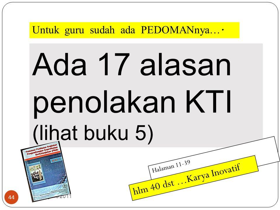 suhardjono 2011 43 Landasan dalam Menilai Publikasi Ilmiah ( KTI ) A P I K A sli, P erlu I lmiah K onsisten