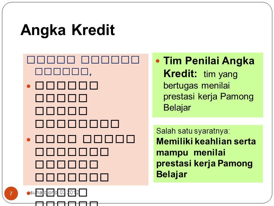 9/12/2014 suhardjono 2012 37 Itulah jabaran macam KTI, Bila ada yang rancu disarankan mengambil paling menguntungkan bagi Pamong Belajar, setuju??