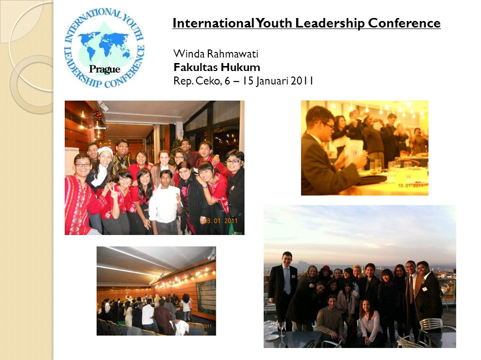 International Youth Leadership Conference Winda Rahmawati Fakultas Hukum Rep.