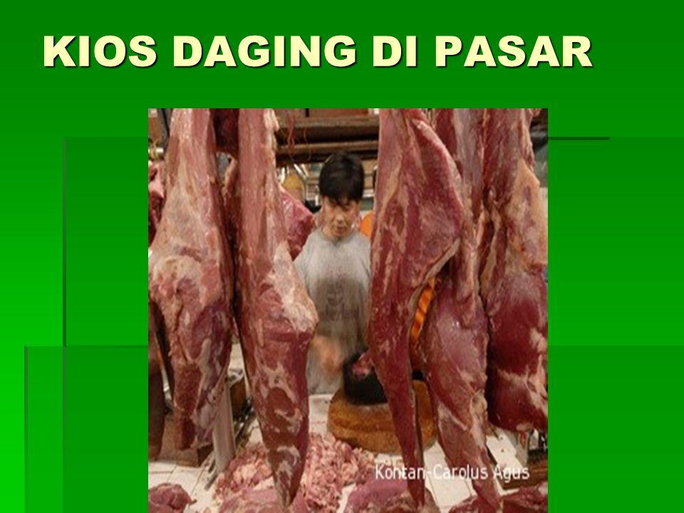 Daging giling yang dipasarkan :