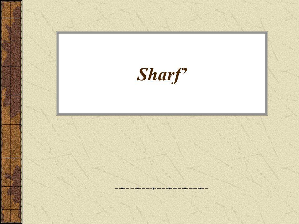 Sharf'