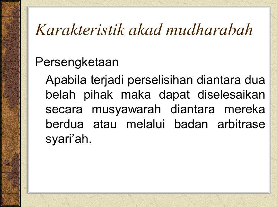 2.Obyek mudharabah Modal a.