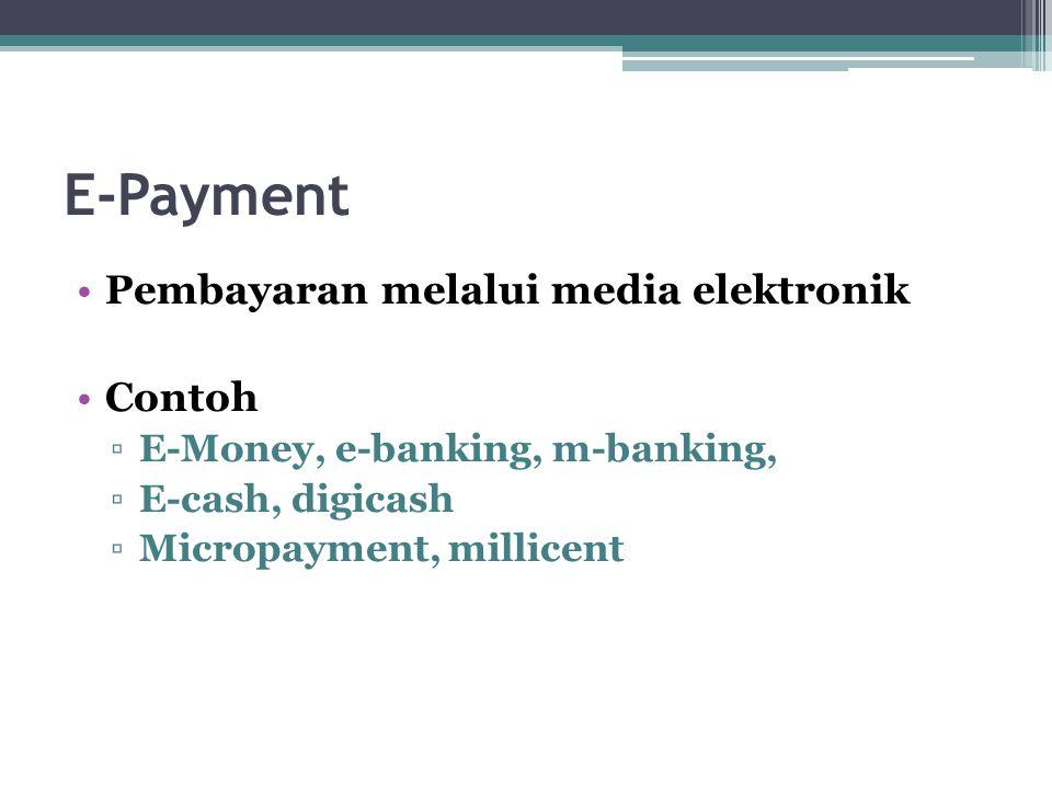E-Business Framework E-product & e-service E-procurement E-marketing E-contracting E-distribution E-payment E-customer relationship manager