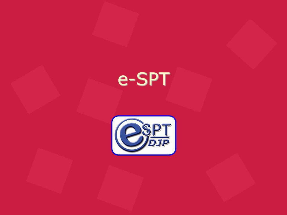Dasar Hukum e-SPT Terbaru Peraturan Direktorat Jenderal Pajak Nonor : 6/PJ/2009 (20 Januari 2009) Tentang Tata Cara Penyampaian Surat Pemberitahuan Dalam Bentuk Elektronik