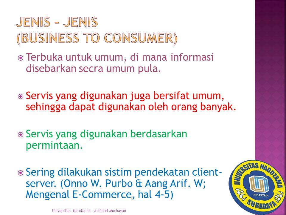 Tujuan suatu perusahaan menggunakan sistim E-Commerce adalah dengan menggunakan E- Commerce maka perusahaan dapat lebih efisien dan efektif dalam meningkatkan keuntungannya.