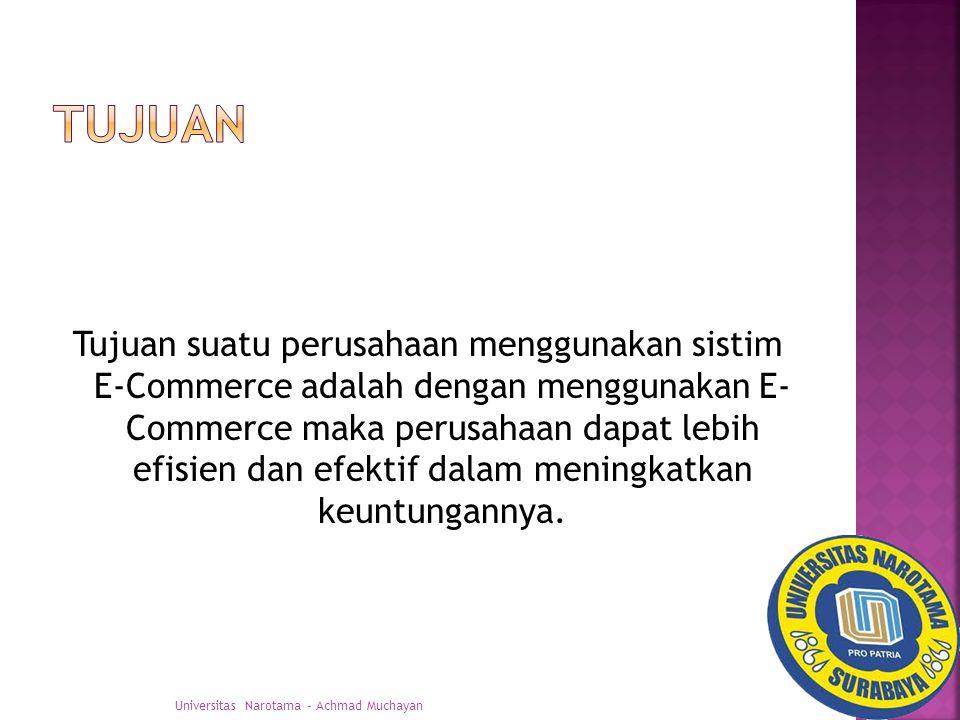  Manfaat dalam menggunakan E-Commerce dalam suatu perusahaan sebagai sistem transaksi adalah: a.